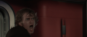 Anakin stops