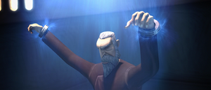 Dooku restrained