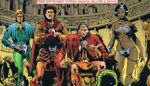 Elementals Marvel Members