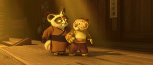 Shifu and Young Tai Lung