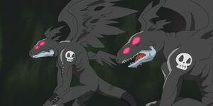 Two Devidramon in the fight