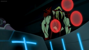 Vilgax Scared The Pilot