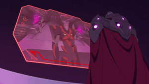 Zarkon and 1 Galra Commander