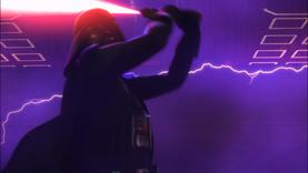 Darth Vader readies