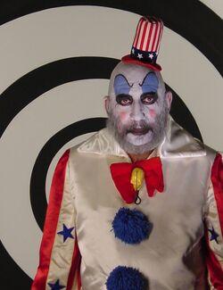 Captain Spaulding the Clown