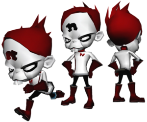 Nina Cortex Early Concept Art