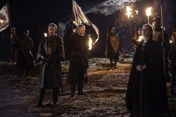 Stannis burning prisoners