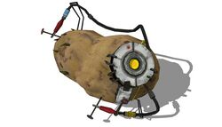 GLaDOS as a Potato