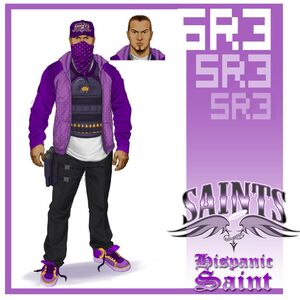 Hispanic Saint Concept Art