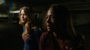Supergirl and Miranda Crane
