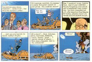 Tintin rastapopolous unknown fate