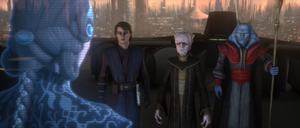 Chancellor Palpatine baffled