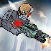 Character in Mass Mayhem 2099 A.D.