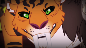 Chimera's tiger head one S4E17