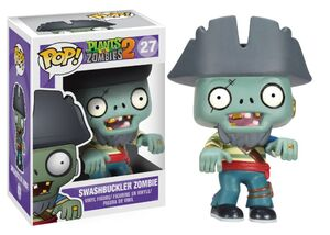 Funko POP! Games Plants vs Zombies Figure Zombie Pirate VINYL