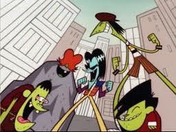 Superpowered Gangreen Gang laugh