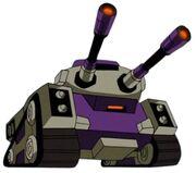 Blitzwing Tank Mode