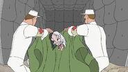 Cruella taken to asylum