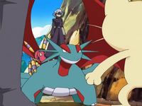 J, Ariados and Salamence (DP020)