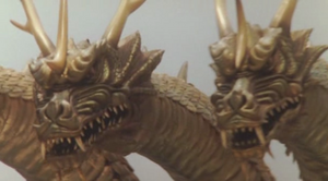 King Ghidorah (Rebirth of Mothra III) 05