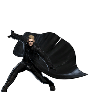 Wesker UMvC3 Victory Post