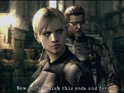 Jill And Wesker Boss Fight by wolfwarrior001