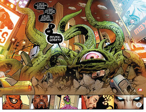 Look Out New York, here comes Shuma-Gorath!