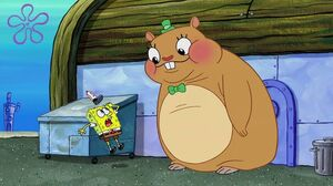 Cuddle meets spongebob