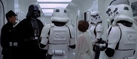Darth Vader Leia