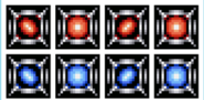 Gradius parodius power capsules and shields by kesoroda mkb-d61avkf
