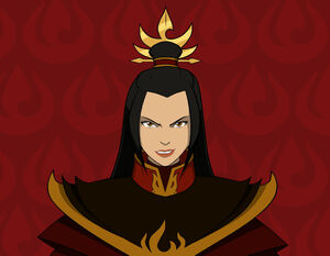 Fire lord azula close up by invisiblejohnny