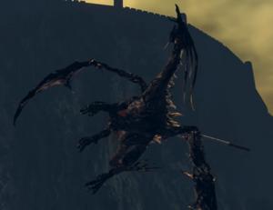 Kalameet took an arrow to the wing