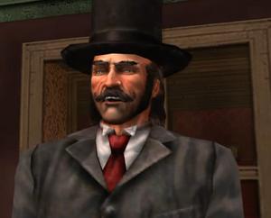 Mayor Hoodoo Brown