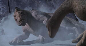 Neera stops Kron from killing Aladar