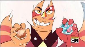 Steven Universe - Jasper Steals the Corrupted Gems (Clip) Gem Hunt