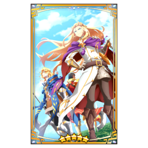 Dragalia Lost - Leonidas, Phares and Valyx (refined)