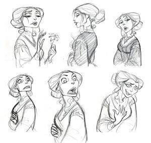 Mother Gothel concept art (3)
