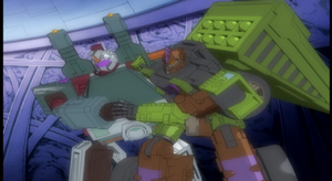 Snow Cat and Demolishor (Decepticon Army)