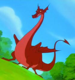 Dragon Timon and Pumbaa