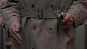 One armed man gun