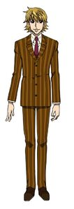 Pariston's full body appearance in the anime