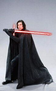 The Last Jedi Kylo promo picture