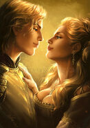 Lannister twins by arkoniel