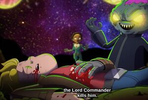 Lord Commander Killing Gary
