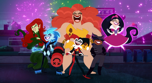 Super Villain Girls' evil laughs Reboot