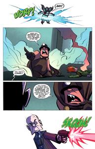Underminer's Demise in Boom Comics