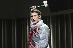 Patrick Bateman played by matt smith