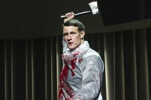 Patrick Bateman played by matt smith