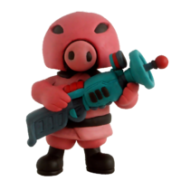 Pigmask Clay