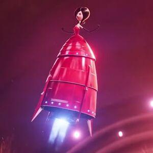 Scarlet Overkill rocket dress